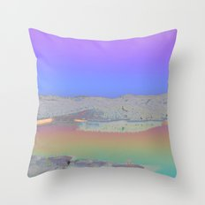 Chromascape 3: Cyprus Throw Pillow