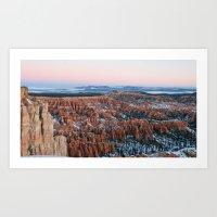 Bryce Canyon Sunrise Art Print