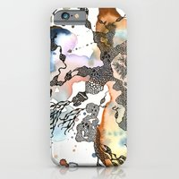iPhone & iPod Case featuring Is that a sea plant or a sea animal?  by Pui Sai Kwok