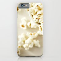 iPhone & iPod Case featuring Popcorn by Leonor Saavedra