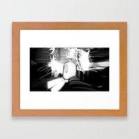 Rigged Milk Print 2 Framed Art Print
