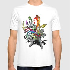 The Creativity Inside SMALL White Mens Fitted Tee