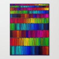 Prismatic Rainbow (Rever… Canvas Print