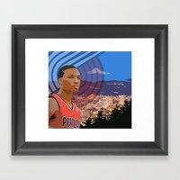 Portland TrailBlazers Da… Framed Art Print