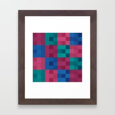 Patch Framed Art Print