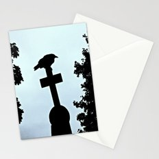 Pere-Lachaise Raven Stationery Cards