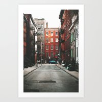 Gay Street NYC Art Print
