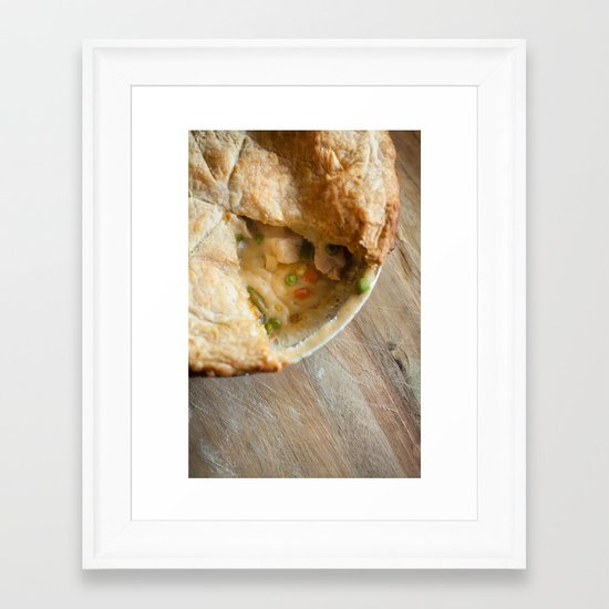 Pie! Framed Art Print