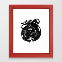 HugBall Framed Art Print