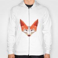 the glaring fox Hoody