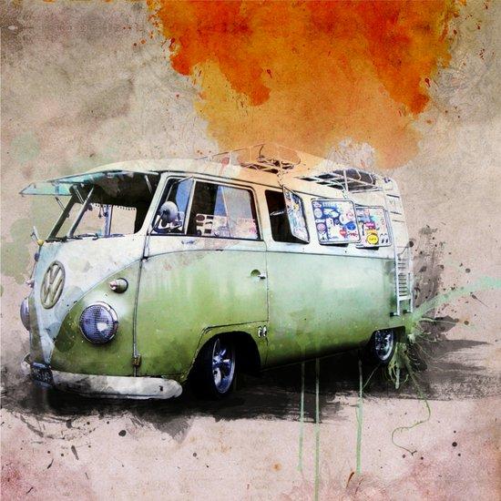 vintage volkswagen Art Print