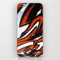White N' Red iPhone & iPod Skin