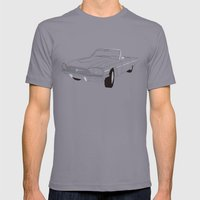 1966 Ford Thunderbird Mens Fitted Tee Slate SMALL