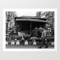 tulips from amsterdam Art Print