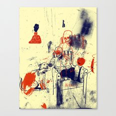 Oh Frank you did it again Canvas Print