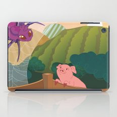 The spider and the pig iPad Case