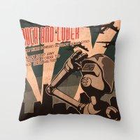 Propaganda Series 2 Throw Pillow