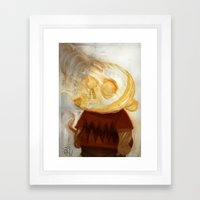 Chukthulu Framed Art Print