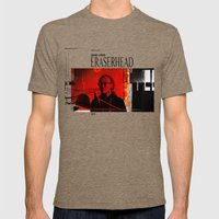 Eraserhead 1 Mens Fitted Tee Tri-Coffee SMALL