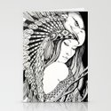 A dream of feathers Stationery Cards