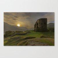 Dolbadarn Castle Sunrise Canvas Print
