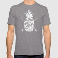 You Had Me At Aloha! Mens Fitted Tee Tri-Grey SMALL