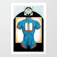 Shushumna Art Print