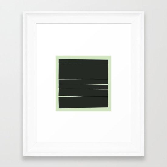#46 Movement – Geometry Daily Framed Art Print