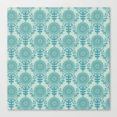 Paper Doily (BLUE) Canvas Print