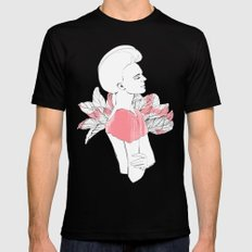 Marjorie SMALL Mens Fitted Tee Black