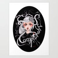 Empty Ness Art Print