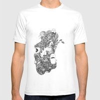Little Buddies Mens Fitted Tee White SMALL
