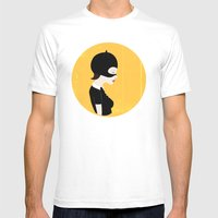 Enid Mens Fitted Tee White SMALL