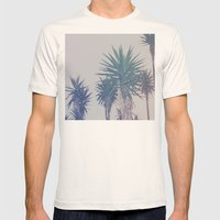 Vintage Palms Mens Fitted Tee Natural SMALL