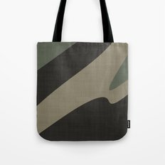 Green camo abstract Tote Bag