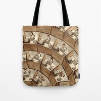 The Rings Of Cubicle Hel… Tote Bag