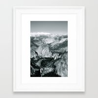Yosemite Framed Art Print