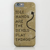 Idle Hands iPhone 6 Slim Case
