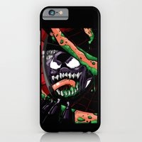 iPhone & iPod Case featuring To Catch A Spider (Purple Symbiote) by Shawn Norton Art