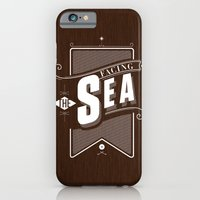iPhone & iPod Case featuring Facing The Sea by iacolarepierre