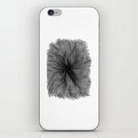 Jellyfish Large B&W iPhone & iPod Skin