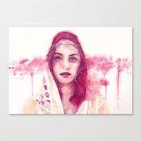 Beginning Of A Summer Dr… Canvas Print