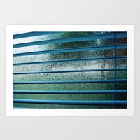 too cold to get out of bed Art Print