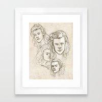 Harries Framed Art Print