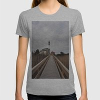 Light House Womens Fitted Tee Athletic Grey SMALL