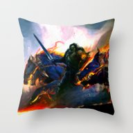 Hellhounds - Painting St… Throw Pillow