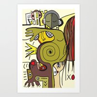 """what Sally Smith Saw … Art Print"