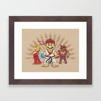 Smash Brotherhood Framed Art Print