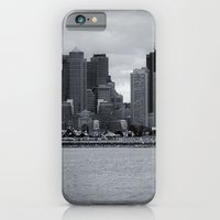iPhone & iPod Case featuring City and Airfield by Em Beck