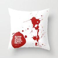 Dexter no.2 Throw Pillow